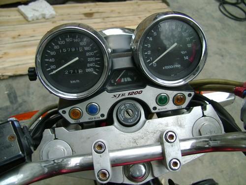 YAMAHA XJR1200出口版本 试车录象